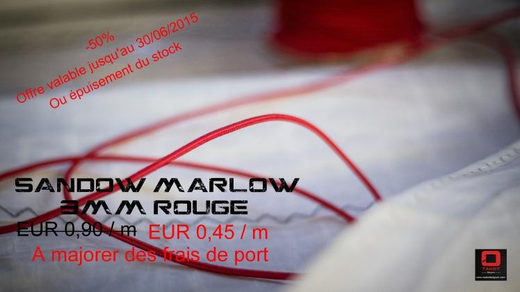 OTAKET PROMO JUIN 2016 SANDOW MARLOW ROUGE